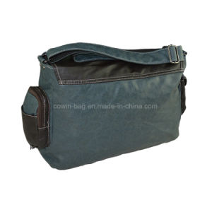 Daily PU Leather Made Flap Crossbody Messenger Bag pictures & photos