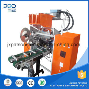 High Quality Auto Aluminium Foil Roll Rewinder with Labeling Attachment pictures & photos