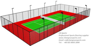 High Performance Spu Tennis Court with Springback Layer pictures & photos