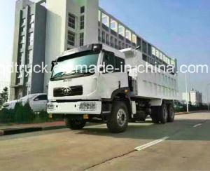 FAW 6X4 Dump/Tipper Truck with Cimc Huajun Cargo Body pictures & photos