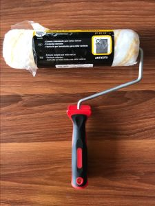 Polyester Material Paint Roller Brush with Plastic Handle pictures & photos