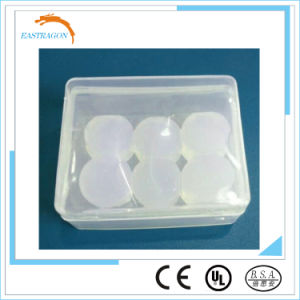 Custom Molded Silicone Earplugs with Plastic Box pictures & photos