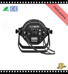IP65 Outdoor Waterproof LED PAR Can 48PCS 3W Rgbwy+UV 6-in-1 LEDs for Large Concerts, TV Studio pictures & photos