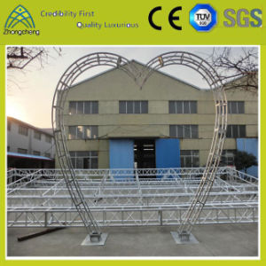 Structural Strongest Truss Design Heart-Shaped Aluminum Truss for Performance Wedding Decoration pictures & photos