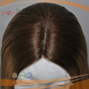 Hand Tied All Human Hair Skin Top Lace Wig pictures & photos