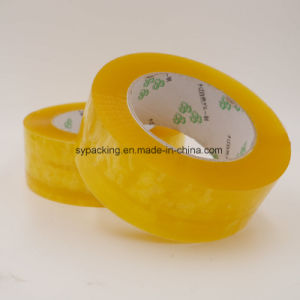 China Brand Water Based Acrylic Adhesive Clear BOPP Packing Tapes 120rolls in a Carton pictures & photos