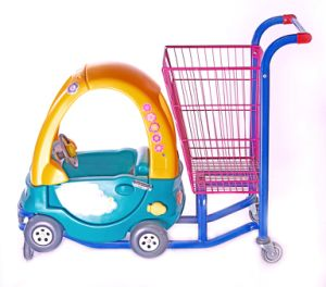 Kids Supermarket Shopping Trolley Cart pictures & photos