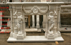 Sculpture Fireplace European Fireplace Marble Fireplace Mfp-040 pictures & photos