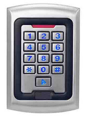 High Quality Standalone Single Door Controller with Keypad pictures & photos