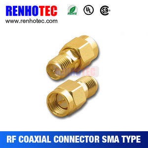 Straight Double Cable SMA Female Coaxial Connector pictures & photos