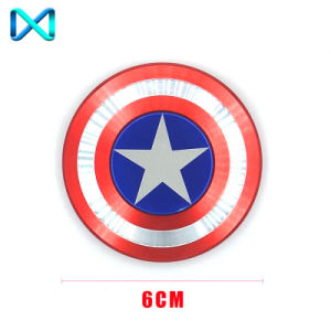 HS116 Captain America Shield Shaped Spinner Top Sell Fidget Spinner pictures & photos