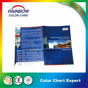 Professional Pamphlet Leaflet Color Card Brochure pictures & photos