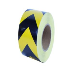 5cm Width High Intensity Grade Glass Beads Reflective Black Arrow Tape for Road Safety Sign pictures & photos