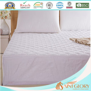 Factory Price Polyester Fabric Waterproof Mattress Pad pictures & photos