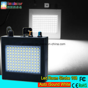 108PCS LED Room Strobe Light LED 5050 White Flash Mini Stage Light KTV Lighting pictures & photos