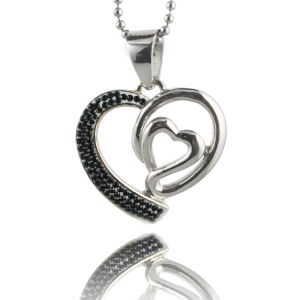 Jewelry Fashion Necklace with Love Heart Shaped Pendant Necklace pictures & photos