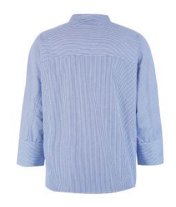 Stripe Cotton Work Women Blouse pictures & photos