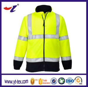 Yellow Highlight Reflector Flame Retardant Garment pictures & photos