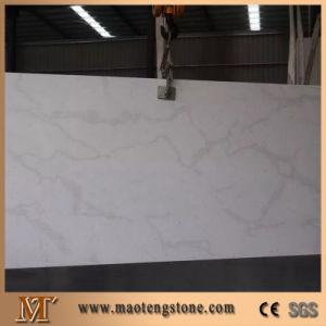 Artificial Calacatta White Quartz Countertop pictures & photos