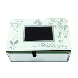 China Supplier Sales Custom Luxury Glass Jewelry Gift Box Hx-6682 pictures & photos