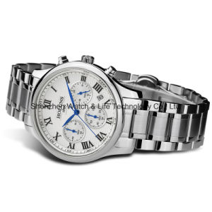 Multifunction Stainless Steel Quartz Men′s Wrist Watch pictures & photos