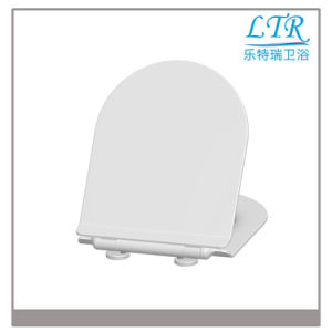 Closed Front Elongated Colorful Toilet Seat Cover pictures & photos