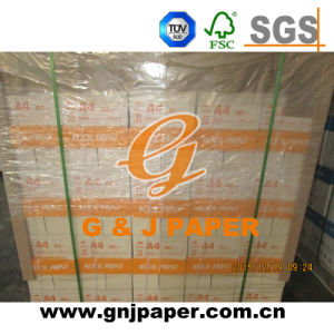White Color A4 80GSM Copy Paper with Pallet Packing pictures & photos