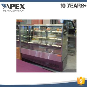 Good Quality Industrial Ce LED Light Commercial Display Cake Refrigerator Showcase Pastry Cooler pictures & photos