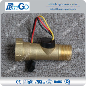 Brass Material Liquid Water Flow Sensor for Water Treatment Controller pictures & photos