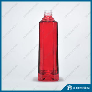 500ml Red Glassware Spirit Bottle (HJ-GYSN-A03) pictures & photos