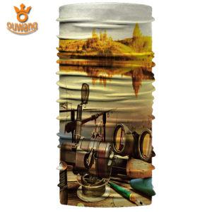 Fishing Magic Print Multifunctional Sublimation Seamless Tube Bandana pictures & photos