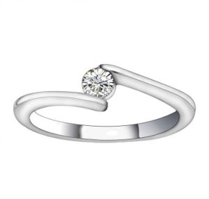 Platinum Plating Promise Ring Stainless Jewelry pictures & photos