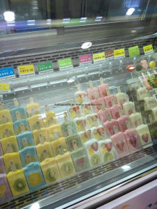 Fresh Popsicle Displsy Showcase for Sale pictures & photos