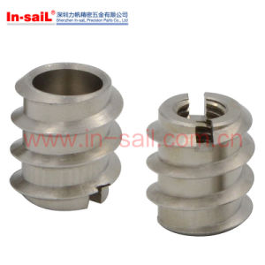 Inner-Throughed Threaded Stainless Steel Insert Nuts pictures & photos