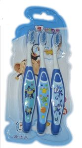 3 PCS Kids Toothbrushes with Soft Bristle pictures & photos