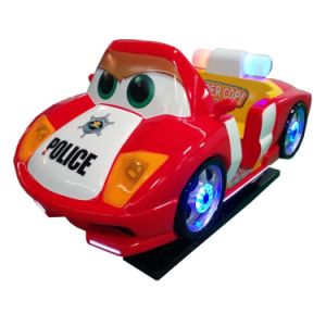 ISO9001 Factory Children Amusement Police Car Kiddy Ride for Children Entertainment (K166-RD) pictures & photos