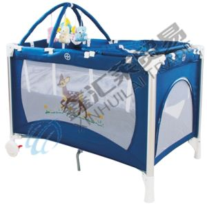Fashion Aluminum Simple Comfortable Baby Playpen pictures & photos