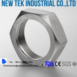 Sanitary European Fitting 304 Stainless Steel Rjt Union Nut pictures & photos