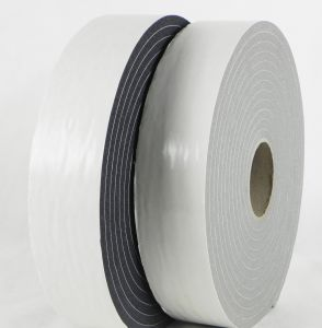 1.6mm Black Single Sided PVC Foam Tape pictures & photos