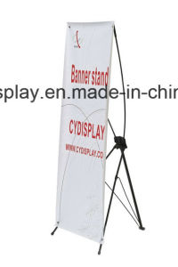 Popular X Banner Stand/Simple X Banner Stand pictures & photos