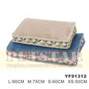 Fashion Windmill Pattern with Soft Plush Pet Beds Yf91312 pictures & photos