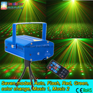 Mini Laser Lights Twinkling Star Sound Mini DJ Stage Lights Cheap Price Ce RoHS Remote Control pictures & photos