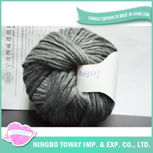 Polyester Fancy Hand Knitting Cheap Wool Wholesale Yarn pictures & photos