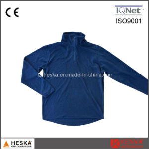 1/4 Zipper Outdoor Cheap Sweat Fleece Jacket pictures & photos