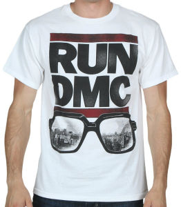 Fashion Run DMC Glasses Nyc T-Shirt (A178)
