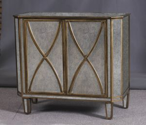 Reproduction Old Furniture Mirror Accent Wooden Side Table pictures & photos
