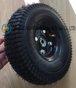 Wear-Resistant Rubber Wheel for Wheelbarrow (4.10/3.50-4) pictures & photos