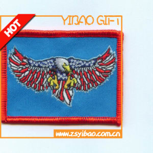 Custom Emblem Embroidery Applique Embroidered Patch pictures & photos
