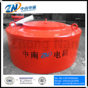 Manual Diacharging Circular Magnetic Metal Separator Suiting for Conveyor Belt Mc03-130L pictures & photos