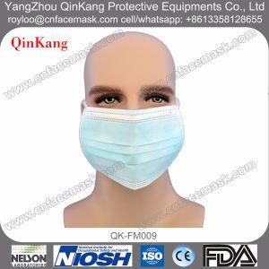 Disposable Non Woven Tie Loop Face Mask pictures & photos